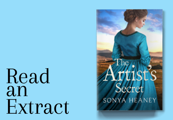 romance.com.au banner The Artist's Secret by Sonya Heaney Australian Historical Romance